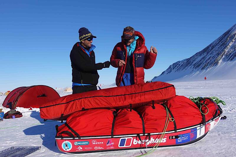 Captain's Log – Spectre – Transantarctic Expedition